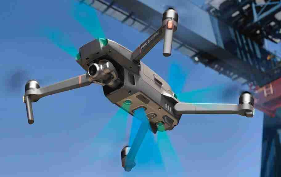 dji enterprise aerial view