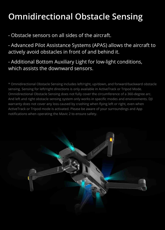 dji drone omnidirection function