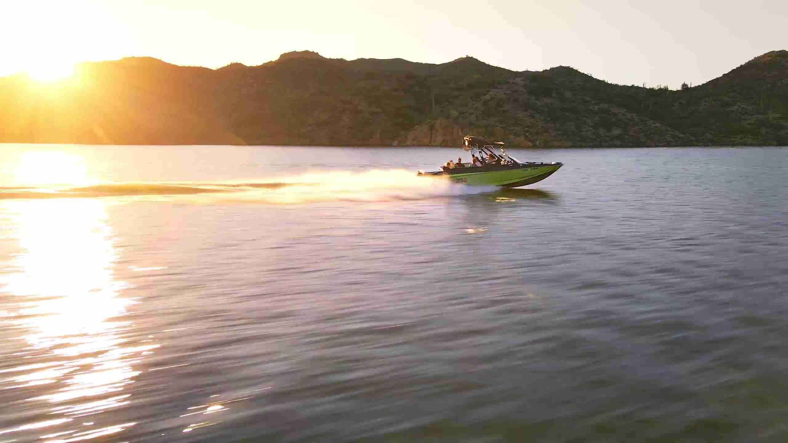 dji mavic drone ocean shot